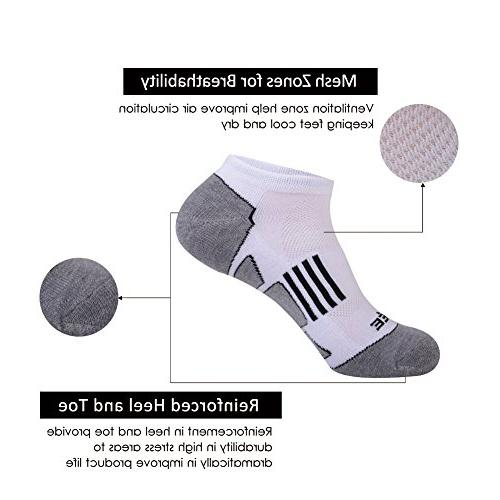 JOYNÉE Athletic Comfort Low Cut Running Socks