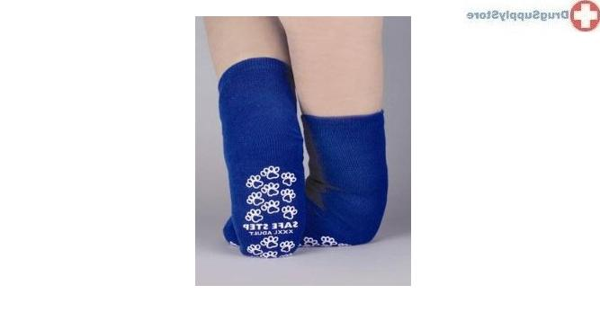 McK Pillow Paws Bariatric 3 X-Large Royal Blue Ankle High Sl