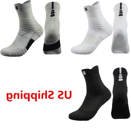 Men's 5 Pack Athletic Sock Combed Cotton Leisure Socks Sport
