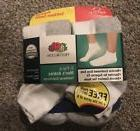 FRUIT OF THE LOOM Mens 7 pack Ankle Socks WHITE Size 6-12
