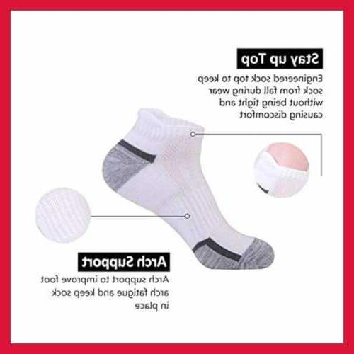 Mens Athletic Cushion For Tab Sock 6Pack,S