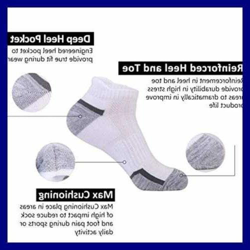Mens Ankle Cut Cushion For Sock