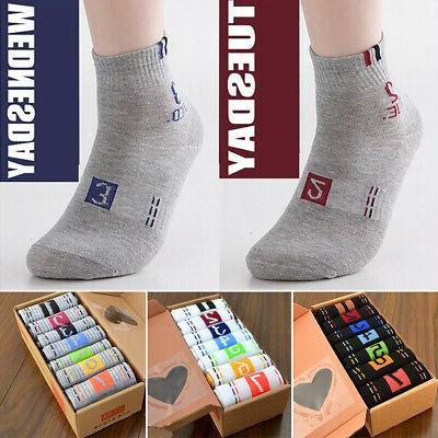 Mens / Boys Novelty Days of the Week Socks Ankle Breathable