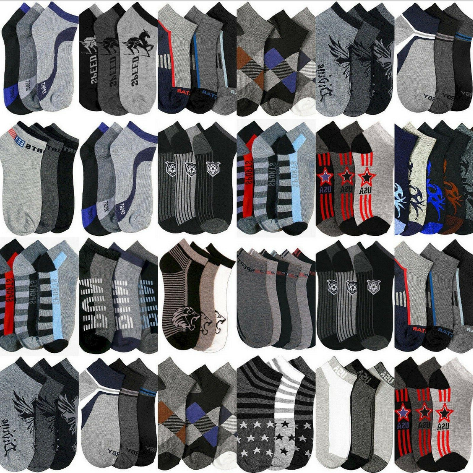 Mens Boys Ankle Socks Size 9-11 Bulk Wholesale Lot Stretchy