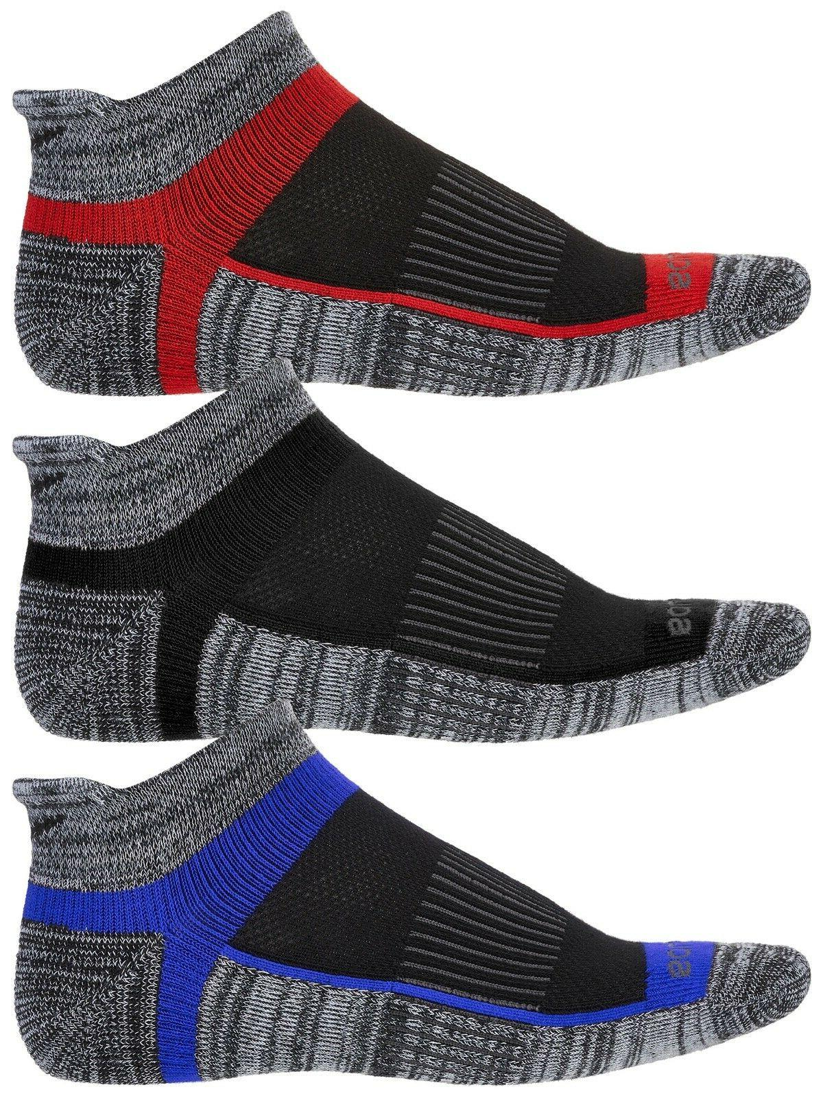 Saucony Mens Inferno No Show 3-Pack Running/Athletic Socks-H