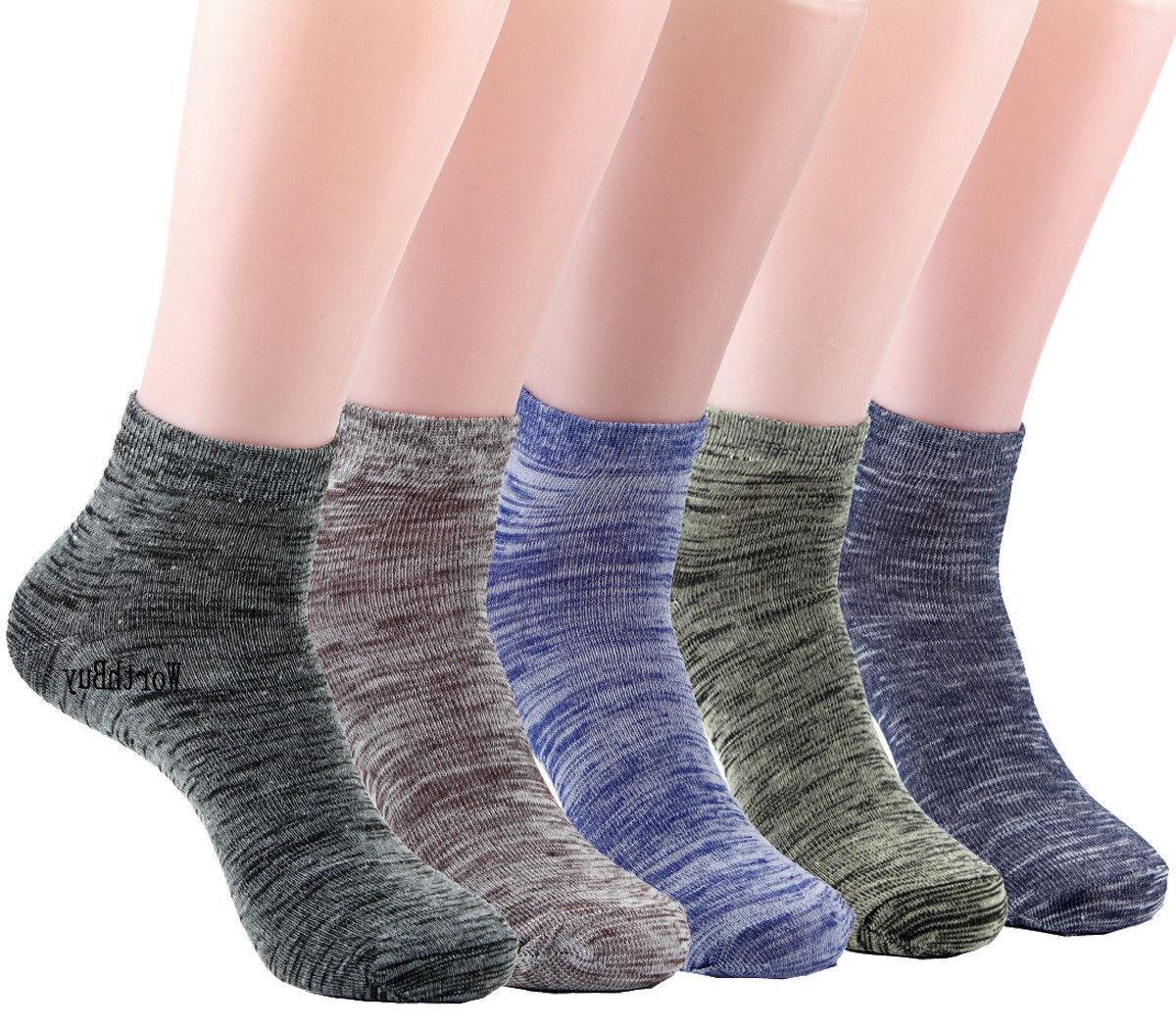 new 6 pairs mens womens ankle quarter