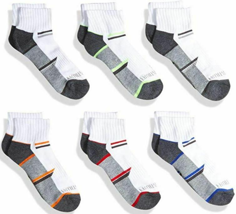 new boys ankle socks 6 pair pack