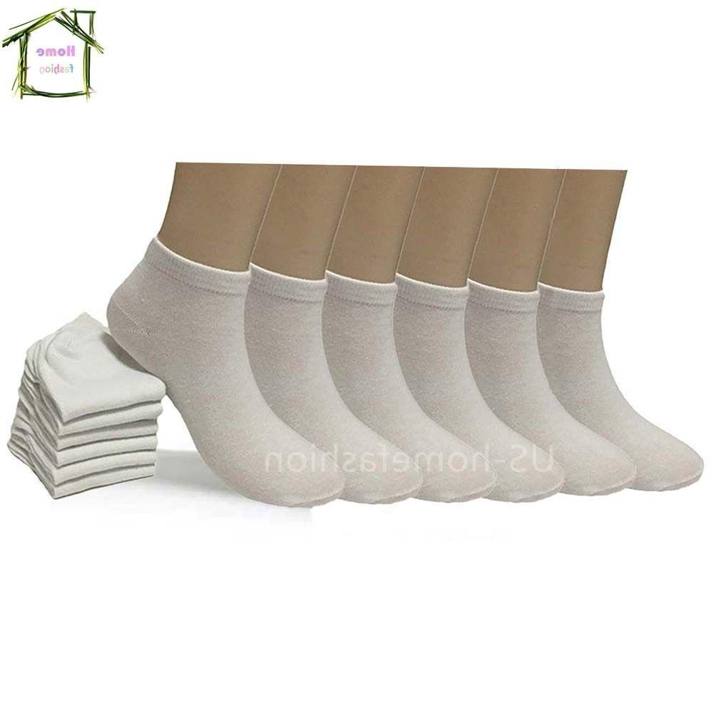 New Pairs Cotton Low Socks Size