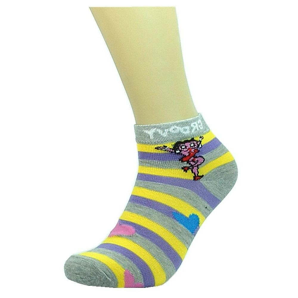 New 6-12 Pairs Fashion Cotton For Women 9-11 Groovy