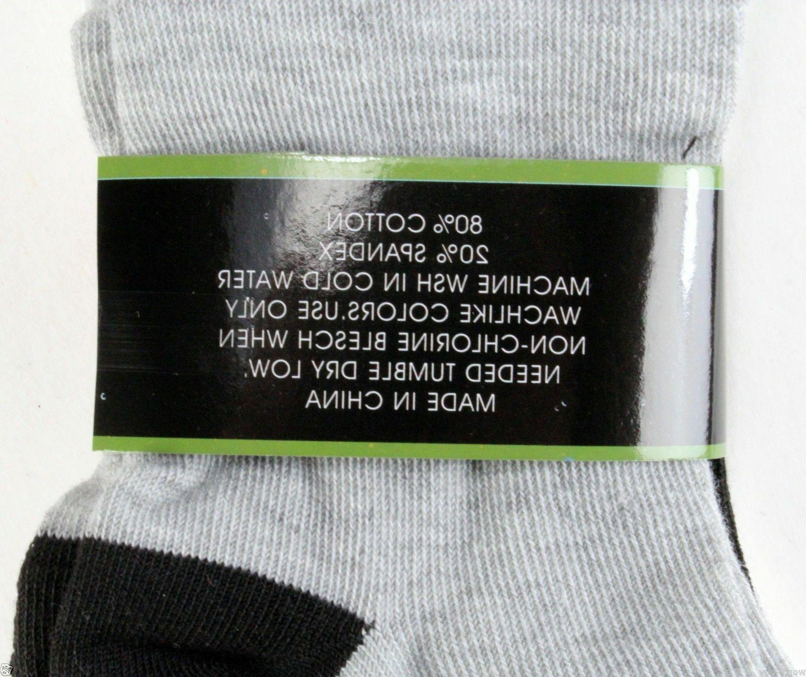 New Pairs Ankle Quarter Crew Socks Size 9-11 Fashion