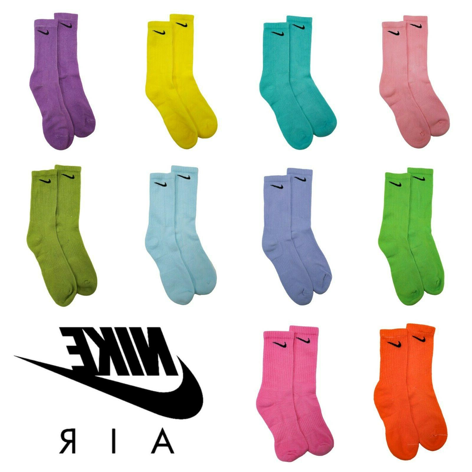 Official Nike Everyday Socks - Bold Color Series - Authentic