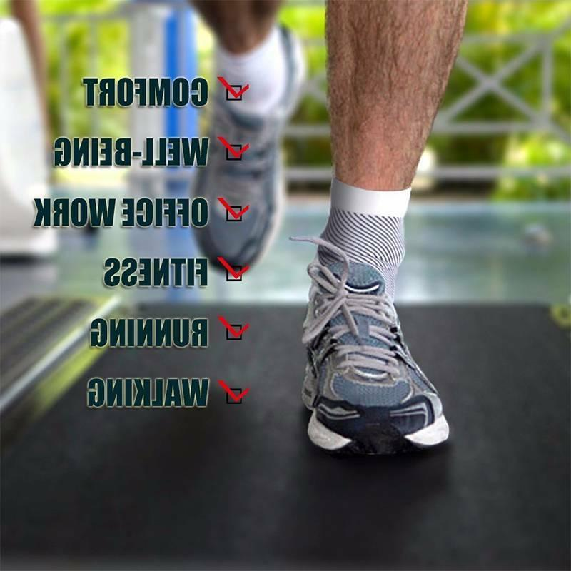 Plantar Fasciitis Compression Arch Running Support For Mens