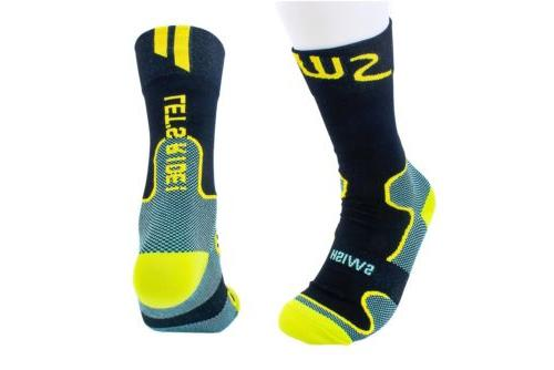 Swish Race Bicycle Socks for Running/Hiking/Jogging/Yoga