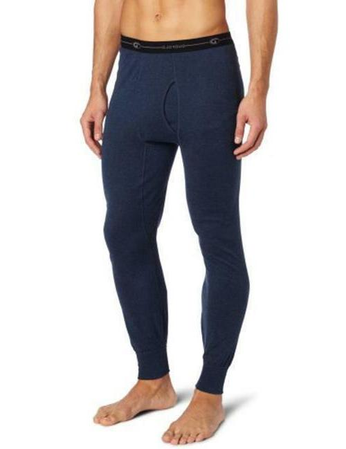 wool blend thermal pants