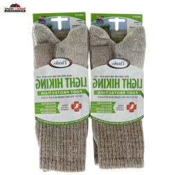 Thorlos Unisex LTH Light Hiking Thick Padded Crew Sock, Waln