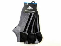 Adidas Men No Show Socks Ankle Low Cut Mens 3 Pairs Athletic