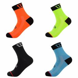 Men Running Cycling Socks Outdoor Sports Marathon Basketball