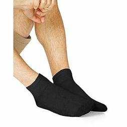 Hanes Men`s Ankle Socks, 186V12,12-Pack, 10-13, White - Sele