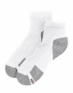 Hanes Men's Ankle Socks 6-Pack ComfortBlend Comfort Durable