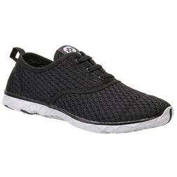 ALEADER Men's Stylish Quick Drying Water Shoes Black 10.5 D