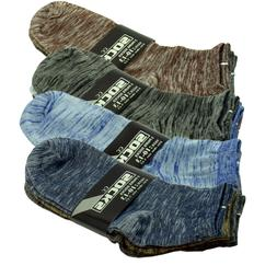 For Mens 6 Pairs Ankle Quarter/Crew Socks Casual Thin Galaxy