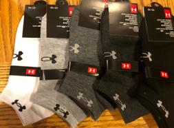 Under Armour Men's Ankle Socks-  5 Pair Size 7-11