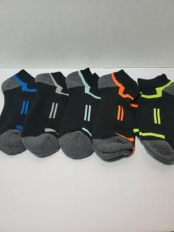 Mens Athletic Ankle Sports Running Low Cut Socks For 5 Pack