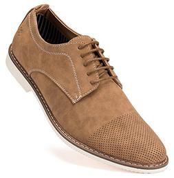 mens casual shoes suede oxford business dress