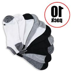 New 10 Pack Casual No-Show Women's Pink Black Gray Blue Asso