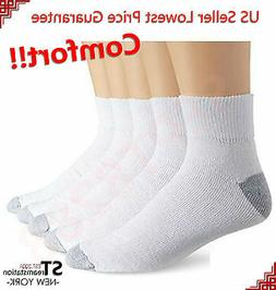 New 12 Pairs Ankle/Quarter Crew Mens Socks Cotton Low Cut 10