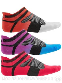 NEW! 3pr Asics Quick Lyte cushion running socks women's M me