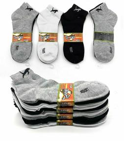New 6 -12 Pairs Womens Sports Tiger Ankle Socks Casual Cotto