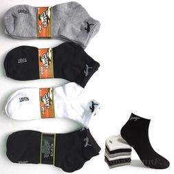 New Lot 12 Pairs Sports Womens Ankle Quarter Socks Tiger Cot