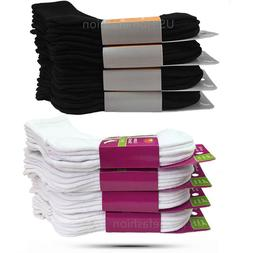 New Lot 3 12 Pairs Womens Sport Cotton Low Cut Ankle Socks S