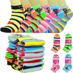 New Lot 6-12 Pairs Fashion Cotton For Women Ankle Casual Soc