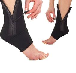 Professional 1 pcs Ankle Zip UP Support Sport Protective Soc