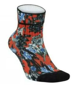 NIKE SNKR SOX ULTRA FEMME FLOWER POWER ANKLE SOCKS SX6379-89