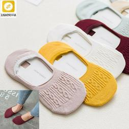 Socks For Women Casual Cotton Breathable Ankle Boat Candy Co
