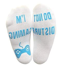 DEATU Socks Sale Men Women Unisex 'Do Not Disturb' Great Gam