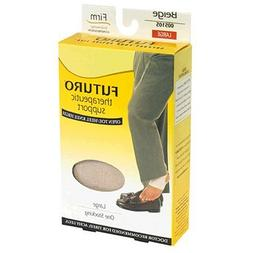 Futuro Therapeutic Support Open Toe/Heel Knee High, Beige/La