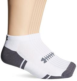 Under Armour U291 Men's White UA Reistor III Low Cut Socks