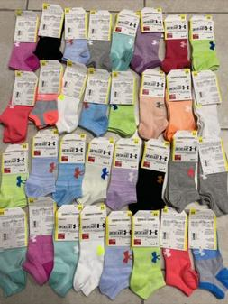 Under Armour UA Training Cotton No Show Ankle Socks - 7 PACK