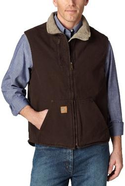 Carhartt V33 Mock Neck Vest - Dark Brown - Extra-Large