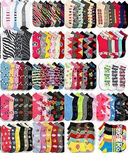 Wholesale Lot Girl's Ankle Socks Size 2-3 2T 3T Mixed Assort