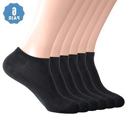 Womens Ankle Low Cut No Show Athletic Socks, Short Cotton Sn