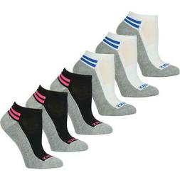 Skechers Womens 6 Pack Ankle Performance Low-Cut Socks Athle