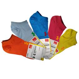 Under Armour Womens Ankle Socks 5 Pairs Fun Colors $16.99 Fr