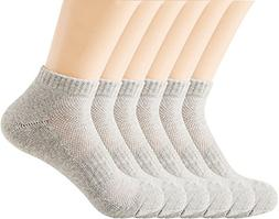 Areke Womens Peformance Cotton Low Cut Anklet Casual Socks,