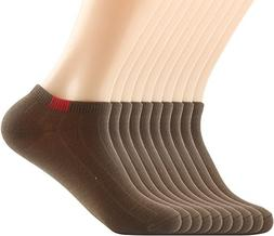 Areke Womens Rib Colorful Low Cut No Show Casual Anklet Sock