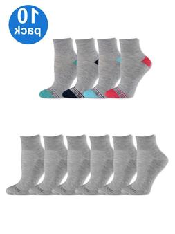 womens soft cushioned ankle socks 10 pack